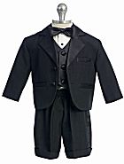 Fouger Boy's Tuxedo With Shorts