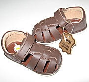 Angel Baby Infant Baby & Toddler Boy Leather Fisherman Sandals