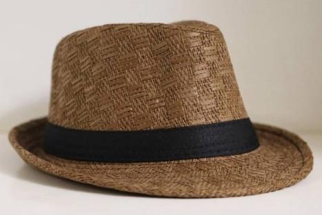 9dcbe138d3023 DapperLads - Boys Summer Straw Fedora Hat - Brown - Toddler 2T - 4T ...