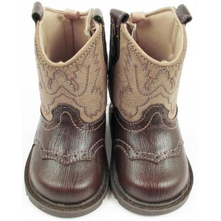 d5695e3bd5a5b DapperLads - Baby Deer Infant Toddler Boys Western Cowboy Boots ...