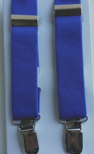 Infant & Youth Suspenders - Royal Blue