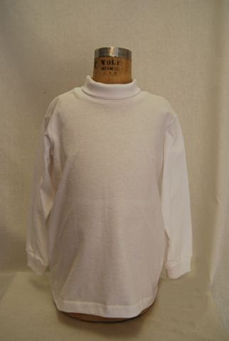 Close-Out Classic White Turtleneck Sz 5