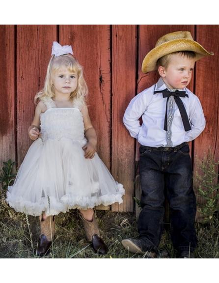 Dapperlads Baby Deer Infant Toddler Boys Western Cowboy Boots