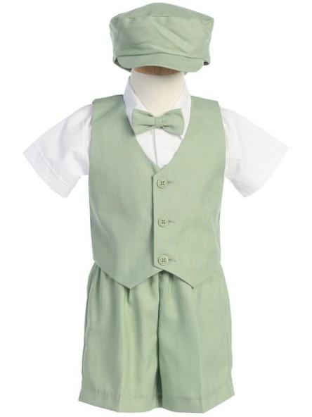8d902f43bda DapperLads - Boys Shorts Set - Pistachio Green - Infants 3 mo - 24 ...