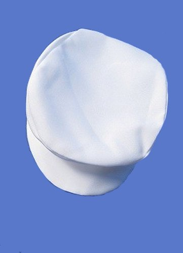 Special Occasion Cabbie Hat  White