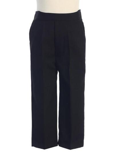 Dapperlads Sale Every Boy Needs Basic Black Dress Pants