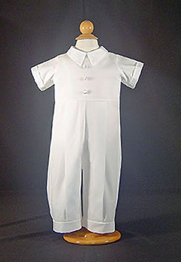 Cotton Christening One-Piece Longall