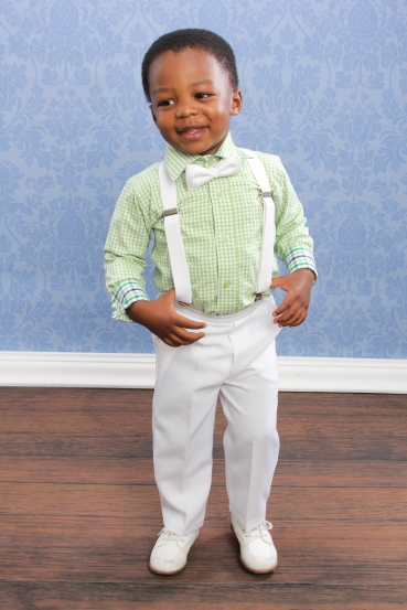 b4fa76c5f87f DapperLads - Lito Boys White Dress Pants - Infants 3 mo - 24 mo ...