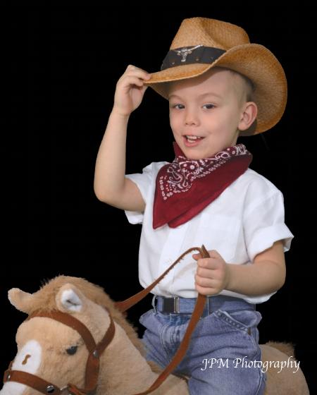 Child Size Paisley Western Bandana