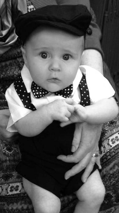 ee30f49845e DapperLads - Suspenders   Bow Tie Set - Polka Dot - Infants 3 mo ...