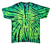 Tie Dye USA Wild Spider Toddler Boys Tie Dye Tee Shirt