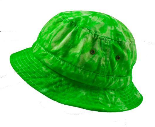 DapperLads - Tie Dye Bucket Hat in Lime -  b Rogue Faire  b  (Casual ... a07c37c97457