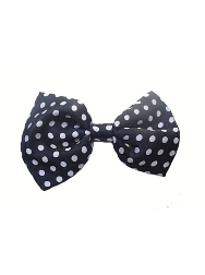 Satin Patterned Bow Ties - Pollka Dots