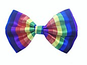 Infants and Toddlers Patterned Bow Ties - Rainbow Stripes