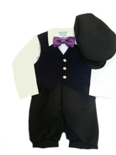 *Exclusive* Navy Winter Knicker Set