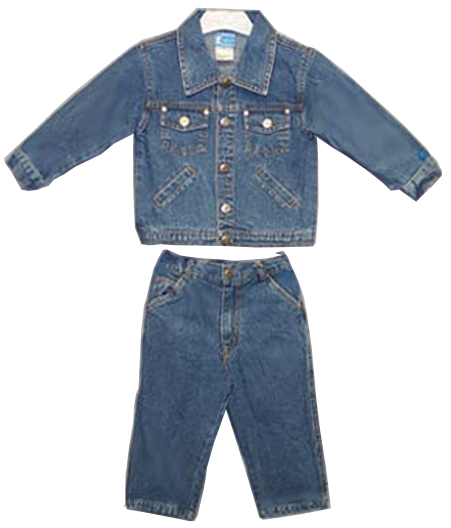 Infants Denim Trucker Jacket & Jeans