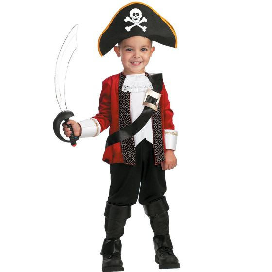 Boys Kids Pirate Child Costume