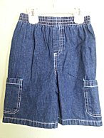 Boys Rock Toddler Boys Denim Jeans Pull-On Shorts