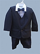 Boys Ring Bearer Eton Jacket & Knickers Set Exclusive