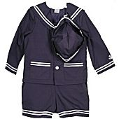 Good Lad 3 PC Baby Infant Sailor Suit SALE