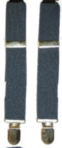 Infant / Baby Suspenders - Colonial Blue