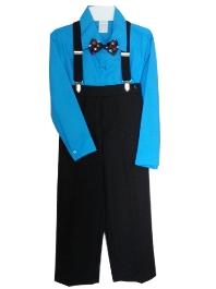 554a4bdf2 Suspenders Pants   Suspenders Set - Turquoise
