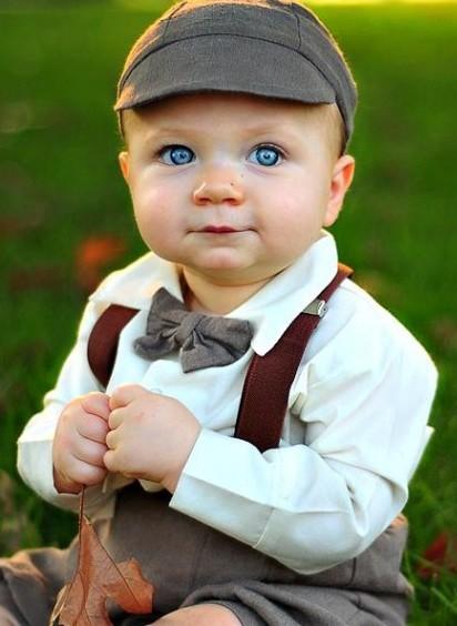 Dapperlads Knickerbocker 5 Piece Infant Set Mocha 24 Month