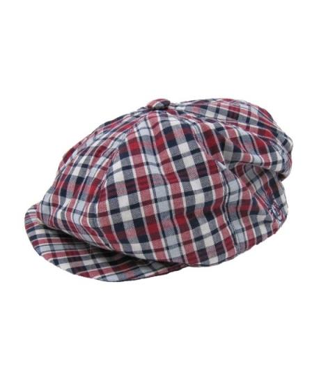 DapperLads - Patriotic Plaid Gatsby Golf Hat - Infants - Infants 3 ... c2aea7ee2b9