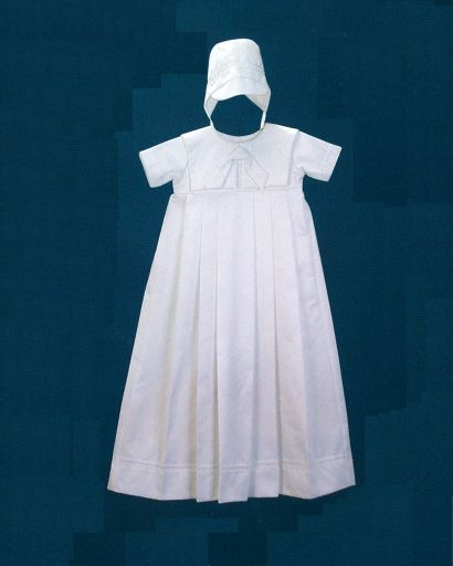 Boy's Cotton Christening Gown - Heirloom  Collection