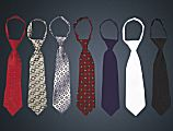 Patterned Zipper Ties - 10 in.