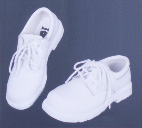 Infant Girls White Dress Shoes - Baby Deer