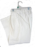 Lito Boys White Dress Pants 6m - 8