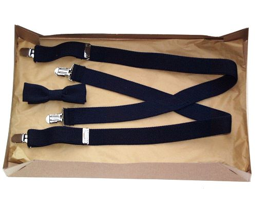 Suspenders & Bow Tie Set