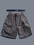 One-Of-A-Kind Shorts & Belt Set - Sz 4T