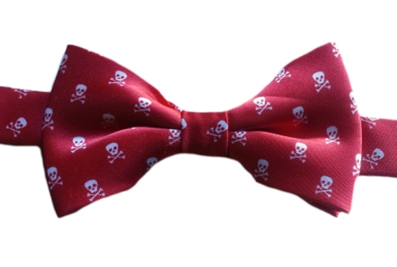 Boys Skull & Crossbones Bow tie