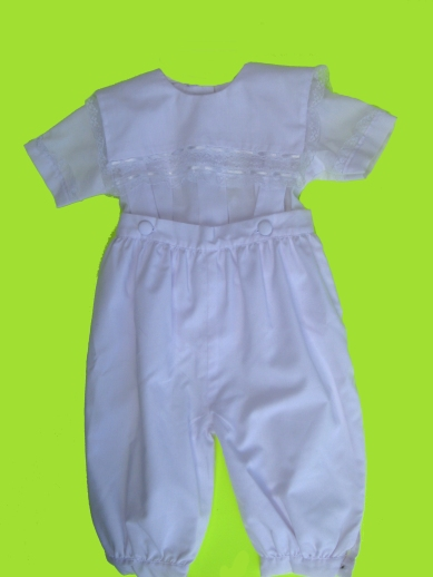 Cherish Apparel Christening Outfit - 6/9 mo