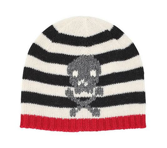 San Diego Hat Toddler Knit Beanie Hat with Skull