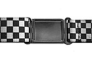 Boys Black Checks Magnetic Buckle Elastic Belts Exclusive