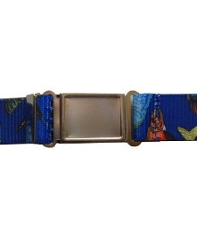 Boys Lots-O-Fish Magnetic Buckle Elastic Belts Exclusive