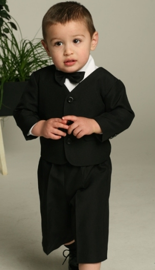 Close-Out 4 - Piece Page Boy Eton Suit