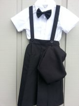 Boys Ring Bearer Set With Walking Shorts