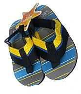 Frisky Toddler Boys Flip-Flop Sandals - Yellow